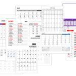 Calendario junio 2022